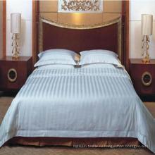 100% хлопок Простыня для комплекта постельных принадлежностей гостиницы (DPF201602)