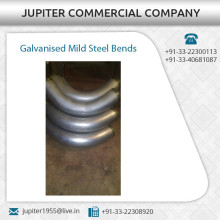 Outstanding Range of Galvanized Mild Steel Bends at Low Rate