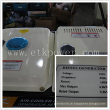Automatikbetrieb Diesel Generator Set (6.0KW)