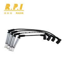 Câble d'allumage haute tension en silicone, SPARK PLUG WIRE POUR OPEL 1612551,1612951,1612592
