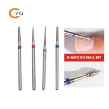 Professional nail polish grinding tool E File 3/32'' 2.35mm Barrel manicure foot diamond manicure nail drill bit