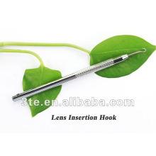 Crochet de ligne en nylon en acier inoxydable, outil optique