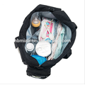 2017 bolso lavable del pañal del bebé de múltiples funciones de gran capacidad del pañal establece 9pcs / set bolso del pañal de la manera venta al por mayor