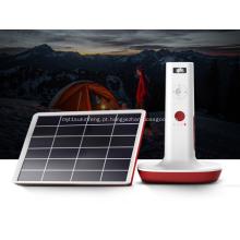 Leitura de energia solar e sistema de iluminação