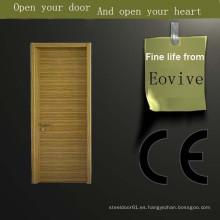 Hecho en china diseño madera de la puerta de la pintura del nuevo estilo