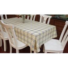 Transparente Tischdecke