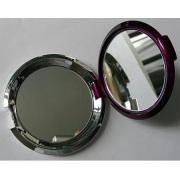 Espejo cosmético plástico redondo