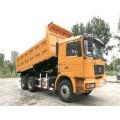 Camión volquete basculante de arena Shacman 6X4 420 HP con camión volquete motor Weichai Shacman