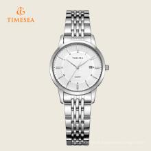 Senhoras de luxo relógio de quartzo com display analógico 71121