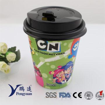 Desechable Café al por mayor Beverage Drinking Paper Coffee Cup
