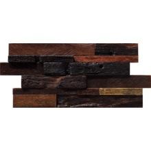 Gạch mờ màu gỗ nguyên chất