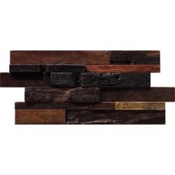 Pure wood color mosaic tile