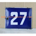Sunboat Scutcheon, Emaille Label, Kunstwerk, Handwerk, Warnzeichen, Emaille Schild