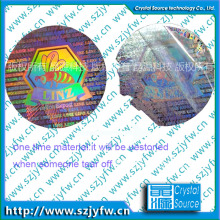 Label Hologram Anti Benang Waterproof 3D