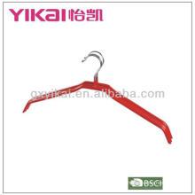 2013 venda quente PVC revestido metal camisa cabide