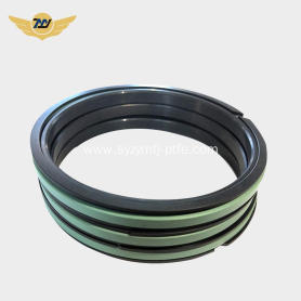 Ptfe Excavator Combined seal piston  SPGW
