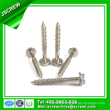 M10*38 Stainless Steel Hexagon Washer Self Tapping Screw