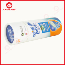 White Cardboard Customized Logo Toothpaste Packaging Tube