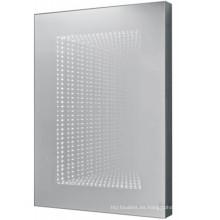 Espejo LED para cuarto de baño con varias habitaciones de hotel
