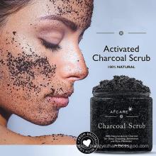 Bamboo Charcoal Scrub Face and Body Scrub Pigmentation Skin Care Scrubs Salt Scrub