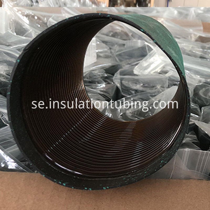 (Medium thick wall) threaded rubber heat-shrinkable tube