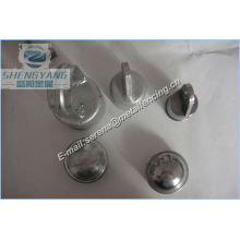 China made steel or aluminum round post cap