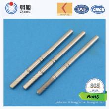 Chine Les ventes personnalisées par usine d'OEM bon axe de cannelure de 8 millimètres