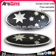 2016 Free samples custom 3d metal auto emblems car logo