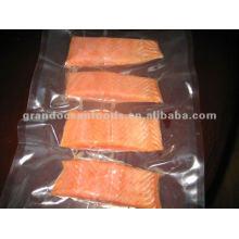 Pink salmon portion