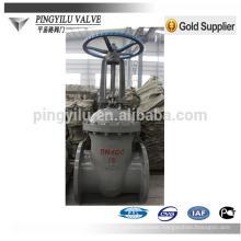 GOST carbon steel pn16 flanged Zero leakage cuniform stem gate valve company