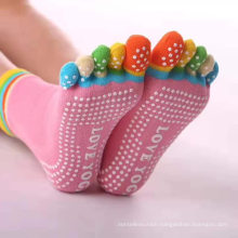 The Most Popular Custom Women Ladies Half Toe Anti Slip Gym Yoga Socks