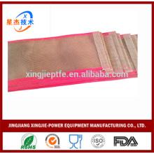 Vente chaude Cinturon antidérapant résistant à la chaleur en PTFE en maille ouverte pour sécheuse textile
