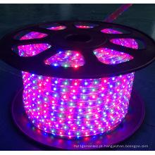 Luz de tira flexível do diodo emissor de luz de SMD5050 DC220V 120 LEDs / M para a decoração