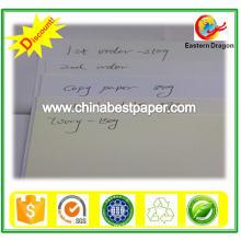 Livro Branco / papel Bond / Skid Embalagem 70lbs Papel Bond