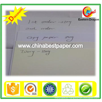 white paper/Bond paper/Skid Packing 70lbs Bond Paper
