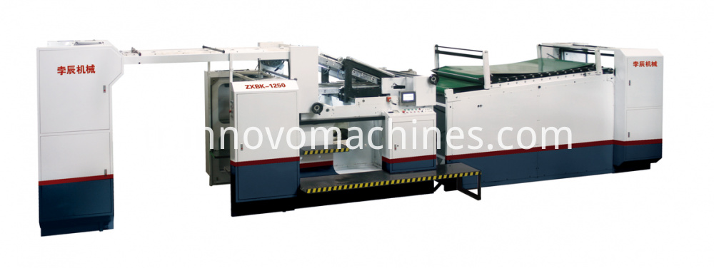 automatic sheet to sheet pasting machine