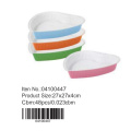 Colorful Heart Shaped Ceramic Cake Pan