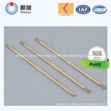 Eje de los motores de la fan de la precisión del CNC del fabricante de China que trabaja a máquina