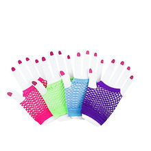 Party Colorful Cotton Glowing Gloves