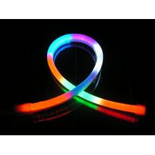 RGB LED flexible de luz de neón LED