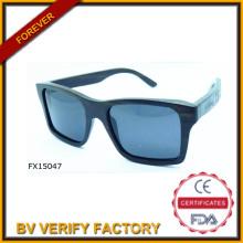 Alibaba торговли гарантии квадратные деревянные солнцезащитные очки (FX15047)