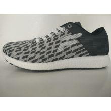 Grau Plaid Stricken Freizeit Schuhe für Männer