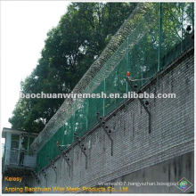 CBT-60 hot dip galvanizing prison wire mesh fence