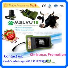 2016 Última marca MSLVU19i escáner portátil de ultrasonido veterinario