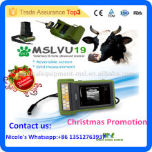 2016 La dernière marque MSLVU19i scanner à ultrasons portable vétérinaire