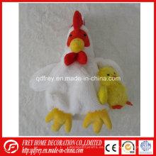 Bolso promocional del juguete del pollo de la felpa de la venta caliente