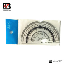 UV Paint Protractor Plastic Ruler for Office Stationery