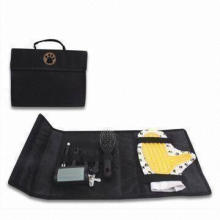 Pet Grooming Set with Carrier Bag, Measures 24.5 x 9cm