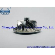 K27 Billet/MFS /Milled Aluminum Compressor Wheel Fit Turbo 5327-970-7119, 5327-970-7120
