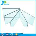 Uv-Beschichtung Kunststoff 4mm Doppelwand verleiht feste Polycarbonat-Dachplatte